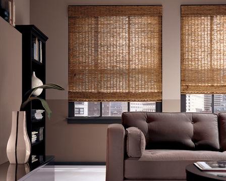 NH woven wood shades