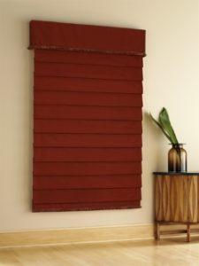 maroon-roman-shade-w-valance