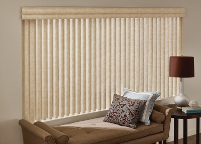 Cadence Vertical Blinds 1 Rod Ladmans Window Designs