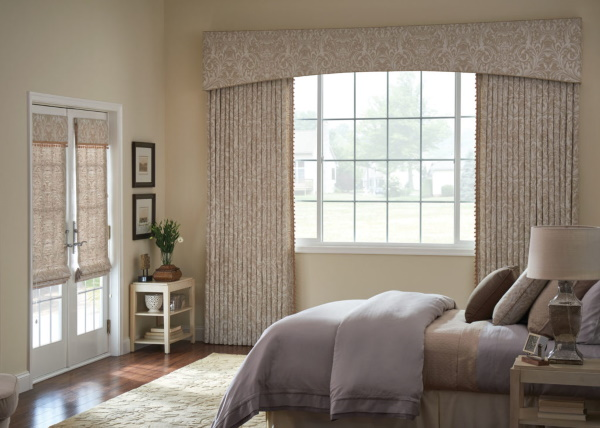 window treatments in a new london nh home