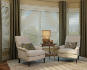 HD white vertical blinds