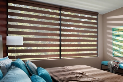 banded window shades in Carroll County NH