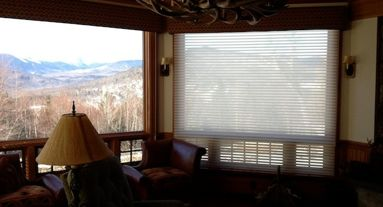 Hunter Douglas Solar shades in North Conway nh