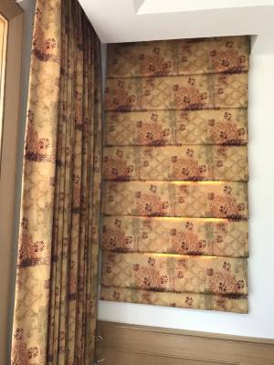 Elegant roman shades in lakes region nh
