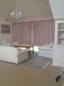 pink living room drapes in pembroke nh