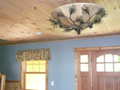 valance in a boscawen new hampshire bedroom