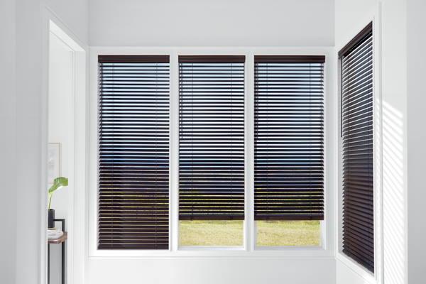 Hunter Douglas wooden blinds